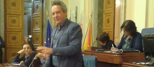 Il sindaco di Caltanissetta, Giovanni Ruvolo