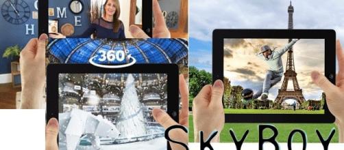 Les Galeries Lafayette ont fait appel à Sky Boy pour les animations de Noël