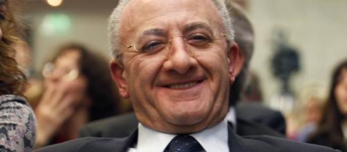 Vincenzo De Luca interviene su Luigi Di Maio.