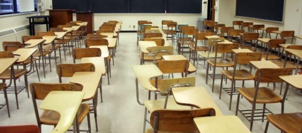 Aulas llenas de estudiantes aunque vacías de personas
