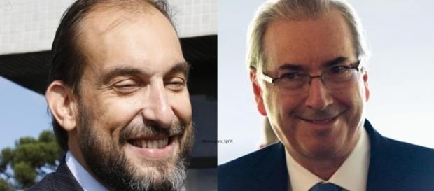Eduardo Cunha contratou Marlus Arns (Foto: Reprodução/Marcelo Camargo)