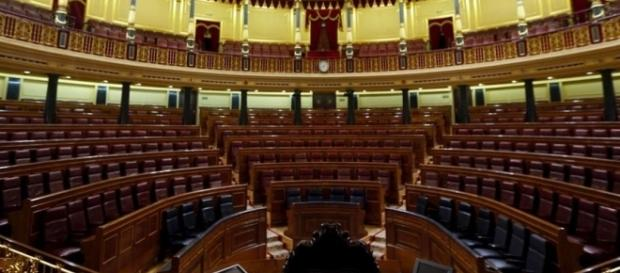 El Congreso de los Diputados vacío