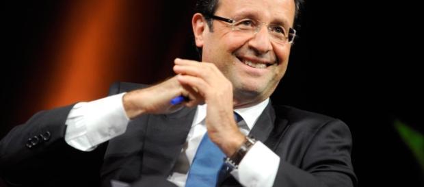 Francois Hollande à la journée de Nantes - CC BY