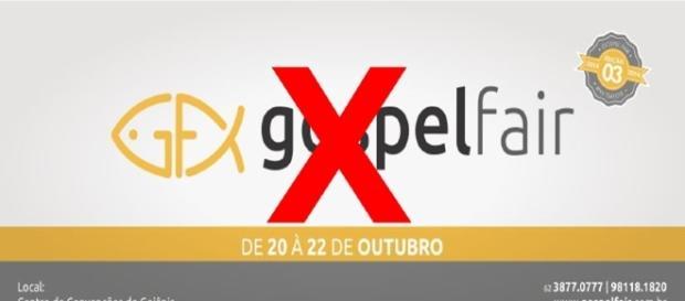 Gospel Fair teve que ser cancelado