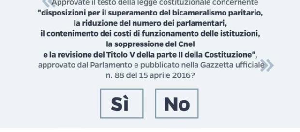 Referendum costituzionale: il Tar respinge il ricorso per difetto assoluto di giurisdizione