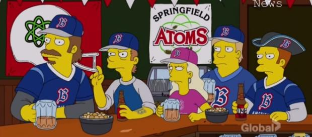 The Simpsons visit Boston / Photo via Youtube - The Simpsons Tackles Patriots Cheating Allegations | The Simpsons Season 28 Episode 3 - Superfan news