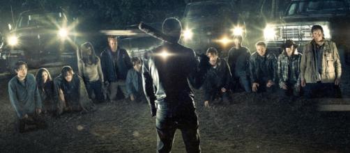 Reprodução/Web - The Walking Dead S07E01.