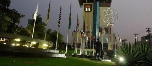 Sede da Federação Paulista de Futebol, na Barra Funda, Zona Oeste da capital paulista