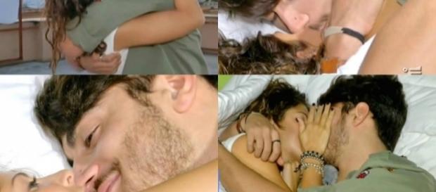 Il discusso bacio tra Martina e Riccardo Gismondi