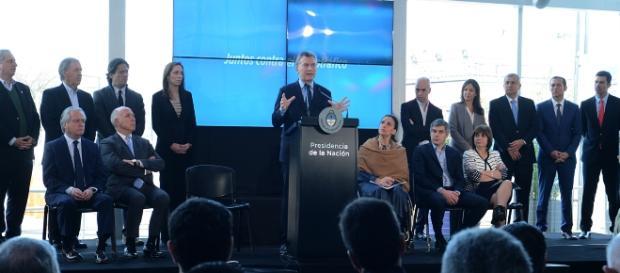 Presentación del Plan Argentina sin Narcotráfico (Foto: Casa Rosada)