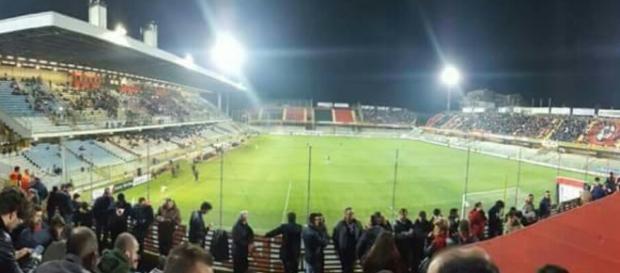 Riapre lo stadio Zaccheria di Foggia.