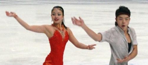 American ice dancers Maia and Alex Shibutani are ranked first at Skate America 2016 following the short dance. Luu/Wikimedia