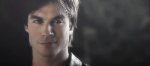 Ian Somerhalder as Damon Salvatore in 'The Vampire Diaries' - Image via 2Words12Letters/Photo Screencap via The CW/YouTube.com