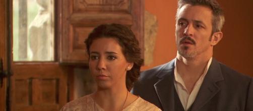 Il Segreto, Emilia e Alfonso soap.