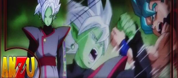 DBS nueva imagen filtrada de Black Zamasu vs Goku