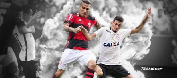 Flamengo X Corinthians: na reabertura do Maracanã, equipes lutam por sobrevivência no Brasileiro (Foto: Arquivo)
