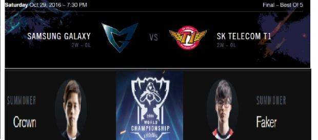 La final SKTelecom T1 VS Samsung Galaxy
