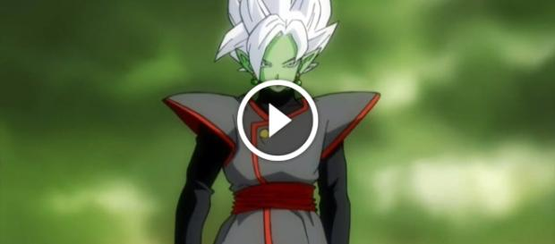 Super Dragon Ball heroes muestra la fusión entre Black Goku Zamasu y nuevos personajes,