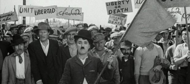 """""""Tiempos Modernos"""" de Charles Chaplin"""