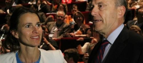 Alain Juppé et Aurélie Filipetti - CC BY
