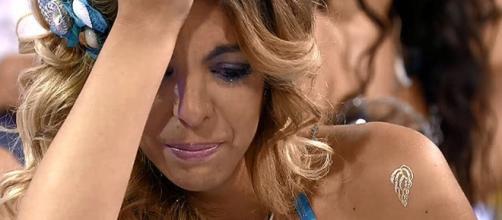 Ana 'Anginas', rota de dolor por las calabazas de Rubén en la sala VIP - telecinco.es