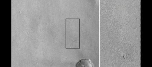 I rottami della sonda Schiaparelli