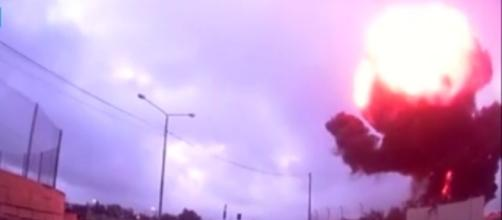 Incidente areo Malta: immagine dell'impatto
