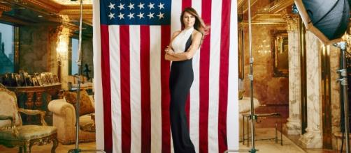 Melania Trump's First Interview About Husband Donald Trumps ... - harpersbazaar.com