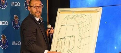 """O célebre quadro que ilustrou o """"jogador à Porto"""""""