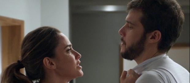 Bruna e Giovanni em 'Haja Coração' (divulgação/Globo)