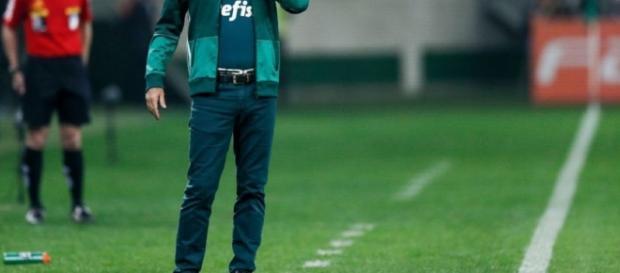 Cuca 'come as unhas' em jogo do Palmeiras.