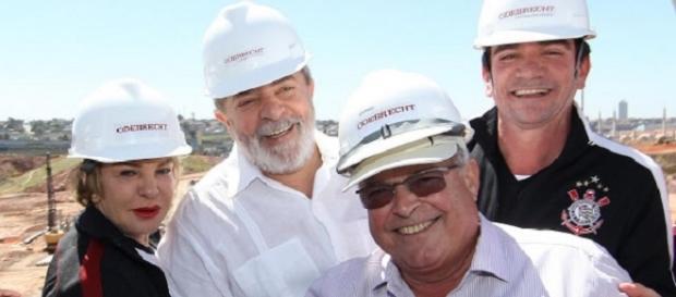 Delação pode complicar situação de Lula, Sanchez e do clube (Foto: Reprodução).