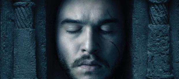 Jon Nieve en uno de los pósters promocionales de 'Juego de Tronos'.