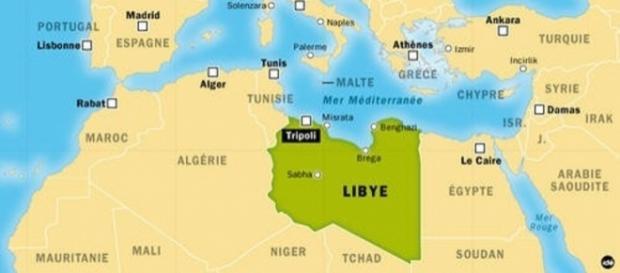"""La Libye regarde l'Europe avec ses flux de migrants. C'est le cadeau de l'invasion de 2011 par la """"communauté internationale""""."""