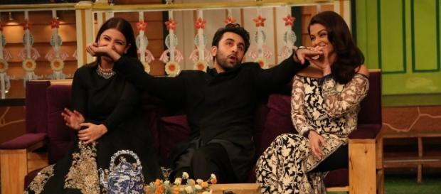 Pics: Ranbir, Ash and Anushka Have a Ball on The Kapil Sharma Show ... - thequint.com