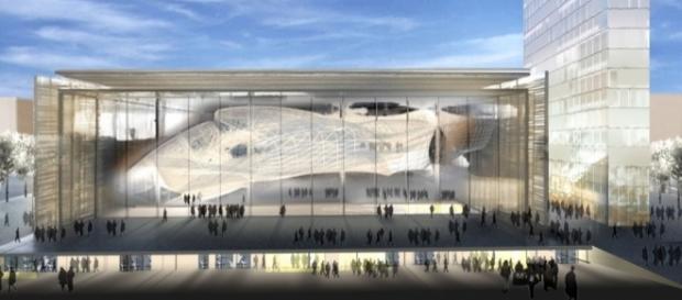 """ROMA - Centro Congressi """"Nuvola"""" di M. Fuksas - archweb.it"""