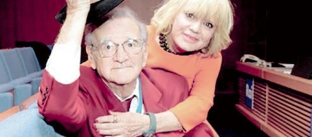Teddy Reno con la moglie Rita Pavone