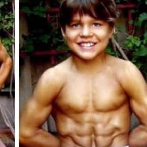 Lembra do menino mais forte do mundo veja como ele est hoje em dia altavistaventures Images