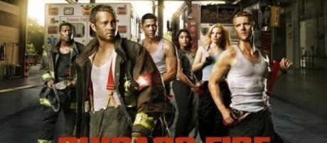 Chicago Fire tv show logo image via Flickr.com