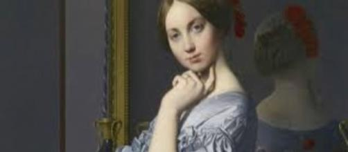 Jean-Auguste-Dominique Ingres, Comtesse Haussonville (detail) newsweek.com Creative Commons