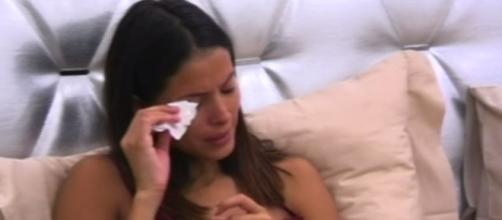Mariana Rodriguez piange al Grande Fratello
