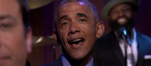 Obama em participação de programa da TV americana