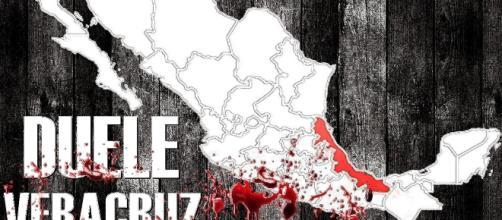 Vivimos atrapados en la constante violencia, me dueles Veracruz