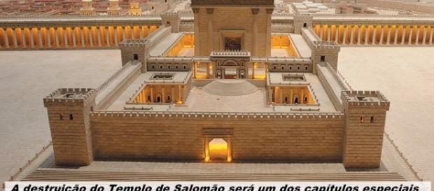 A destruição do Templo de Salomão será destaque na nova novela bíblica