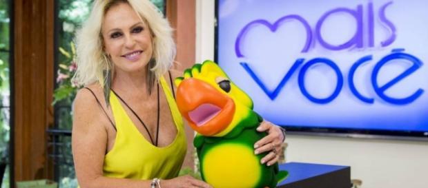 Ana Maria Braga no programa 'Mais Você'.