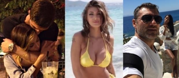 Belen e Iannone abbracciati, Cristina Buccino, Bobo Vieri con la fidanzata Jazzma Kendrick