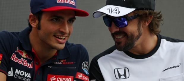 competencia histórica para los pilotos españoles, Alonso 5º y Sainz 6º