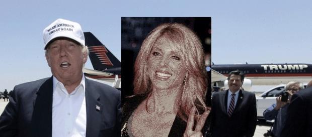 Donald Trump, alors en couple avec Marla Maples, organisait-il avec elle des parties fines en jet privé ?