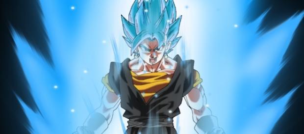 Fan art de Vegetto super saiyajin Blue