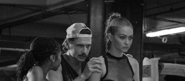 Gigi Hadid e James Franco per Stuart Weitzman